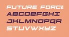 Future Forces Semi-Italic