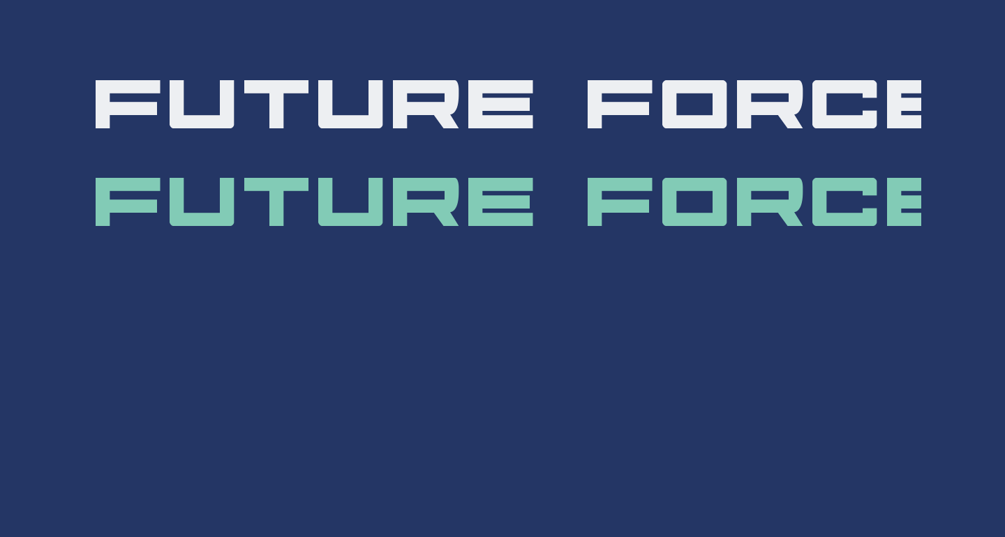 Future Forces