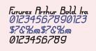 Futurex Arthur Bold Italic