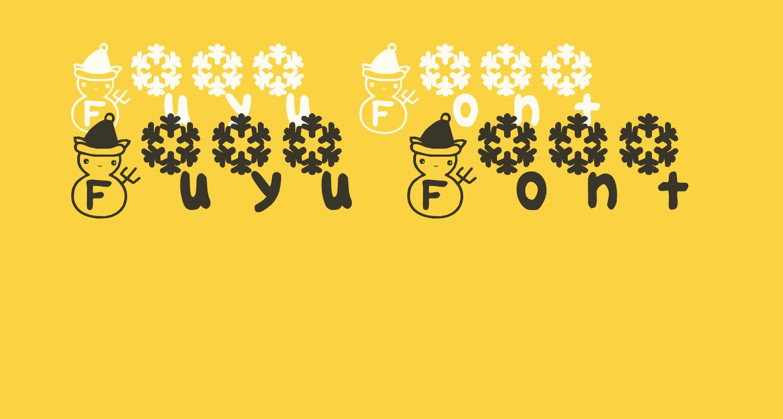 Fuyu Font