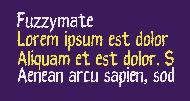 Fuzzymate