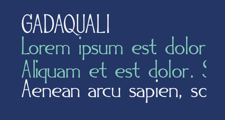 GADAQUALI
