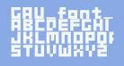 GAU_font_cube_B