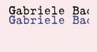 Gabriele Bad AH
