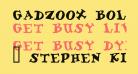Gadzoox Bold