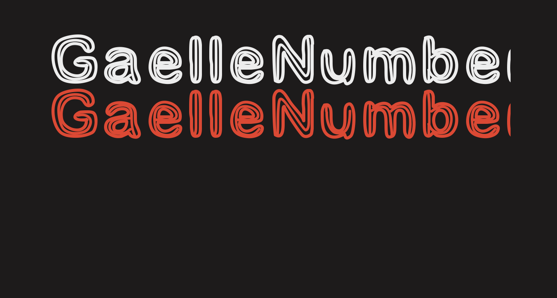 GaelleNumber3