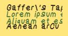 Gaffer's Tape Italic