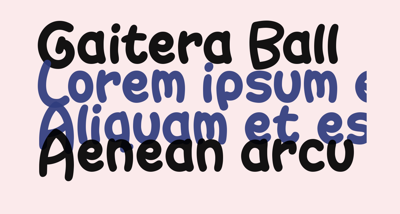 Gaitera Ball