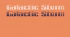 Galactic Storm Gradient