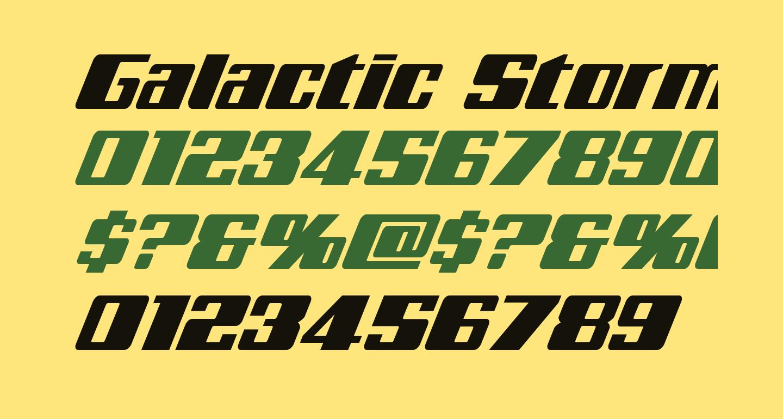 Galactic Storm Super-Italic