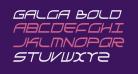 Galga Bold CondensedItalic