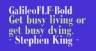 GalileoFLF-Bold