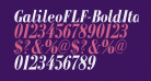 GalileoFLF-BoldItalic