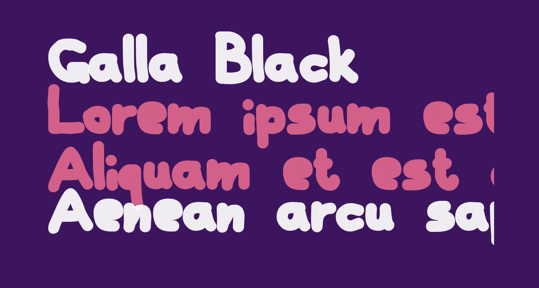Galla Black