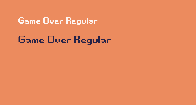Game Over Regular