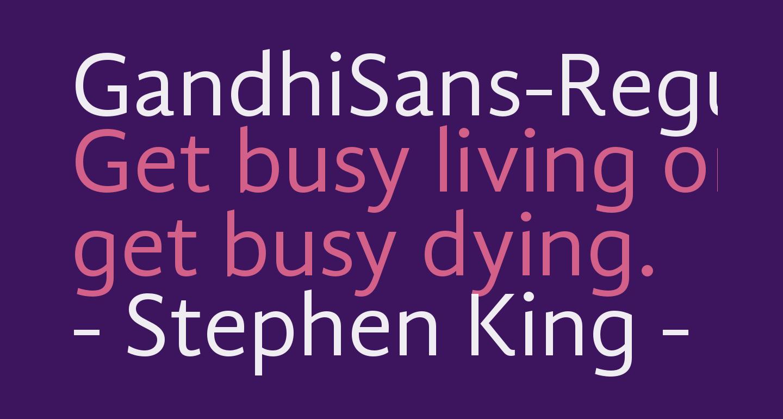 GandhiSans-Regular