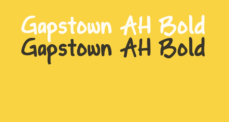 Gapstown AH Bold