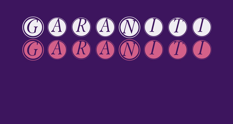 GaraNitialsFramed
