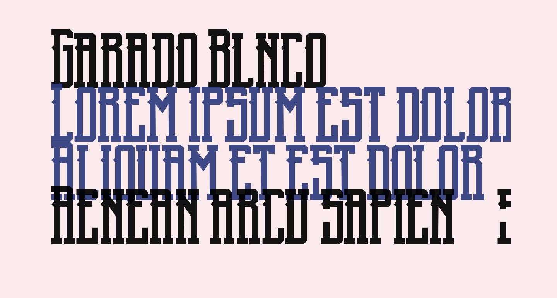 Garado Blnco