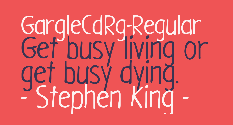 GargleCdRg-Regular
