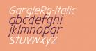 GargleRg-Italic