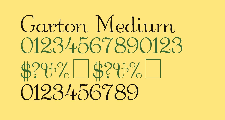 Garton Medium