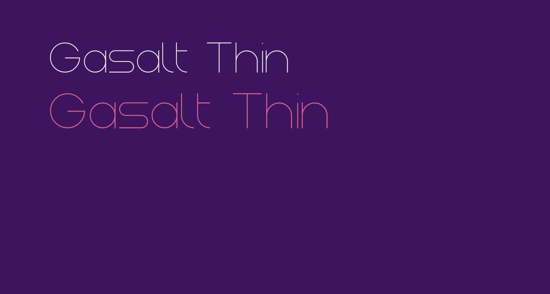 Gasalt Thin