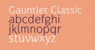 Gauntlet Classic
