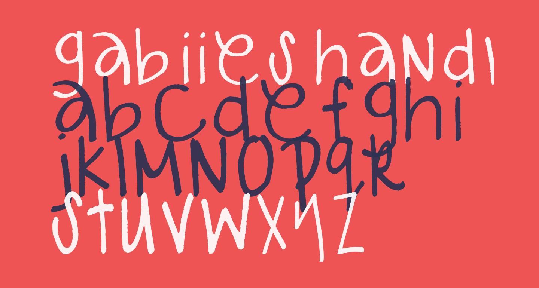 gabiies handwritting