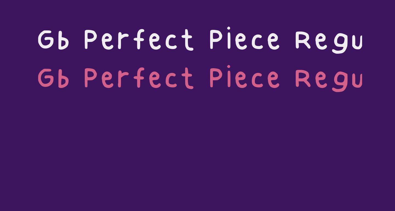 Gb Perfect Piece Regular