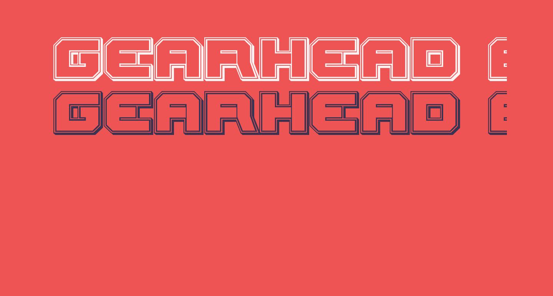 Gearhead Engraved