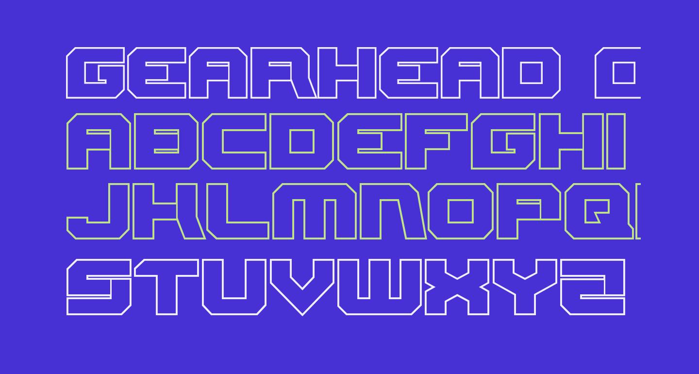 Gearhead Outline
