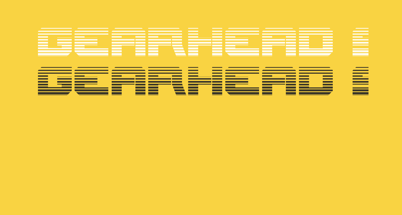 Gearhead Scanlines