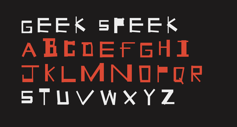 Geek Speek
