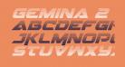 Gemina 2 Gradient Italic
