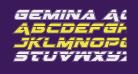 Gemina Academy Laser Italic