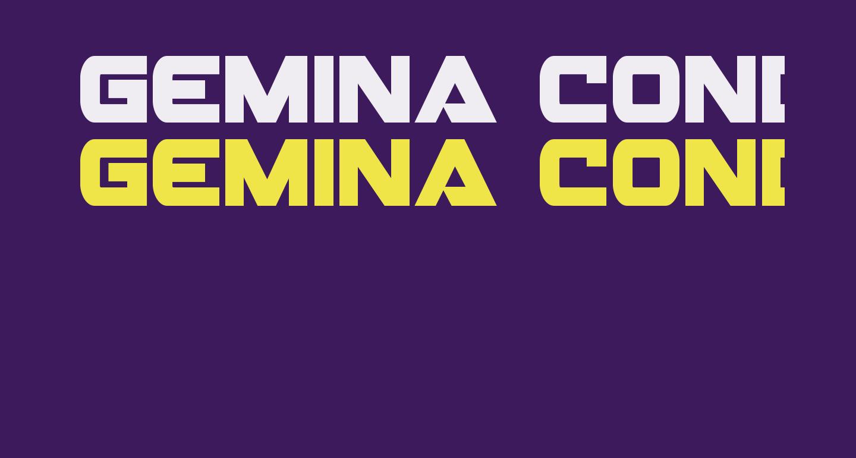Gemina Condensed