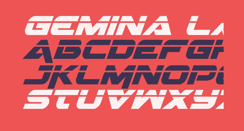 Gemina Laser Italic