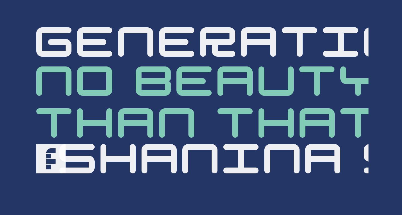 Generation Regular