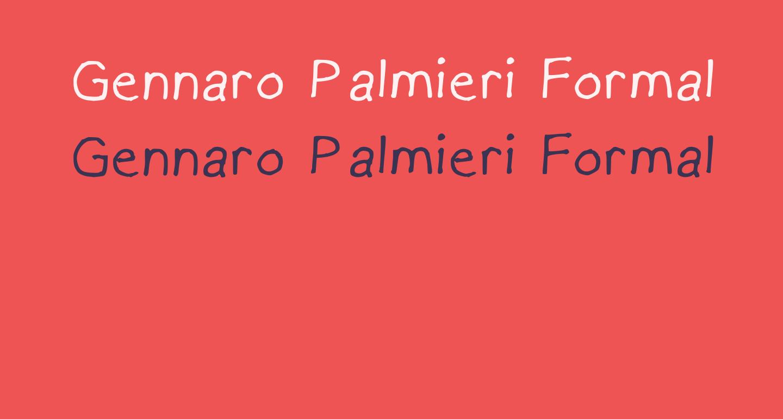Gennaro Palmieri Formal Medium