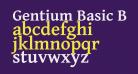 Gentium Basic Bold