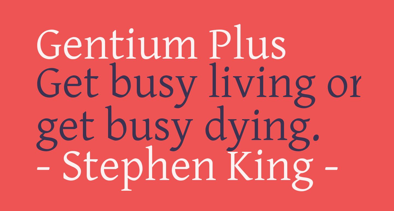 Gentium Plus