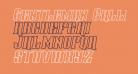 Gentleman Caller Outline Italic