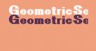 GeometricSerif
