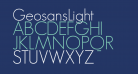 GeosansLight