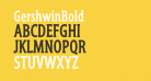 GershwinBold