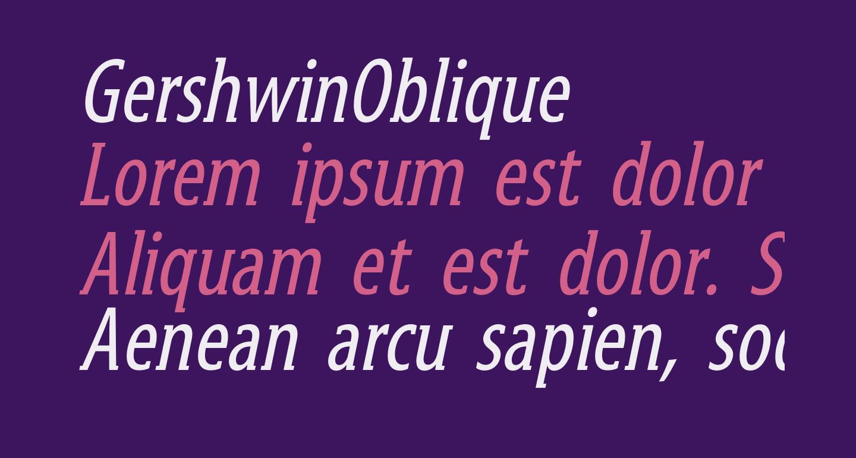 GershwinOblique