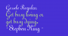 Gessele Regular
