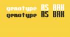 genotype RS BRK