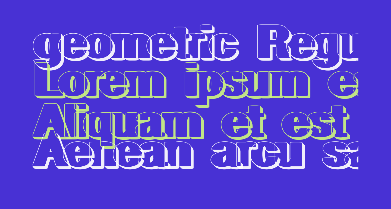 geometric RegularShadow